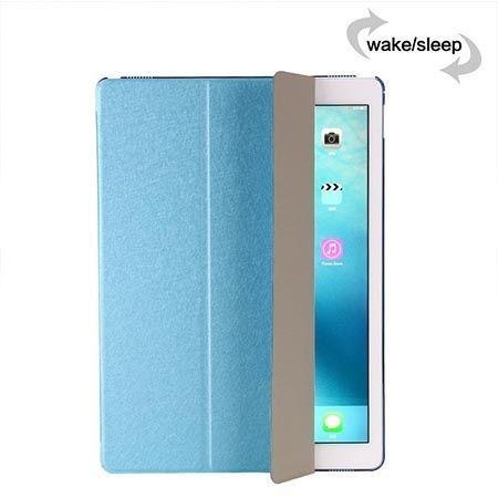 Etui na iPad 3 Silk Smart Cover z klapką - niebieskie.