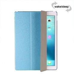 Etui na iPad 4 Silk Smart Cover z klapką - niebieskie.