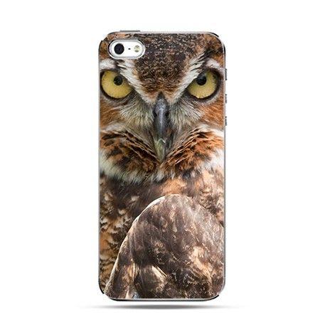 Etui na iPhone 4s / 4 - mądra sowa