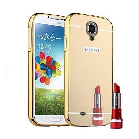 Mirror bumper case na Galaxy S4 - Złoty