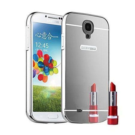 Mirror bumper case na Galaxy S4 - Srebrny