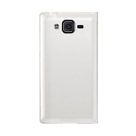 Etui na Galaxy Core Prime - flip S-View z klapką - Bialy