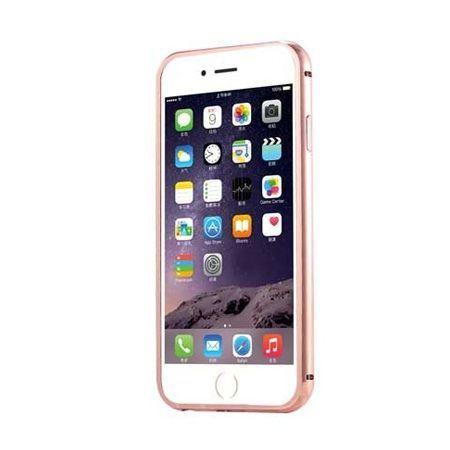 Bumper case na iPhon 4 - Różowy