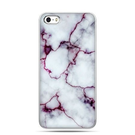 iPhone 6 etui na telefon różowy marmur