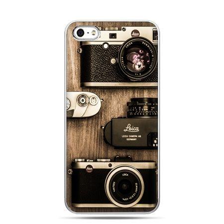iPhone 5c etui aparaty retro