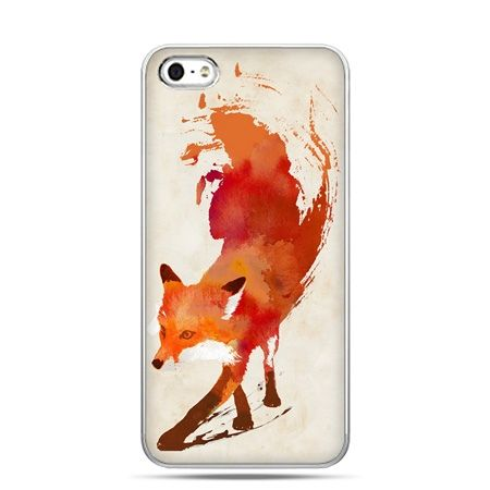 iPhone 5c etui lis watercolor