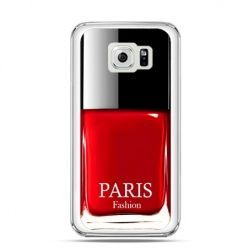 Etui na Galaxy S6 lakier do paznokci czerwony