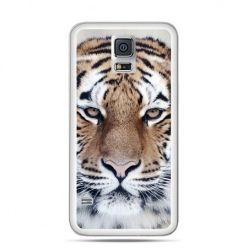 Etui na Galaxy S5 śnieżny tygrys