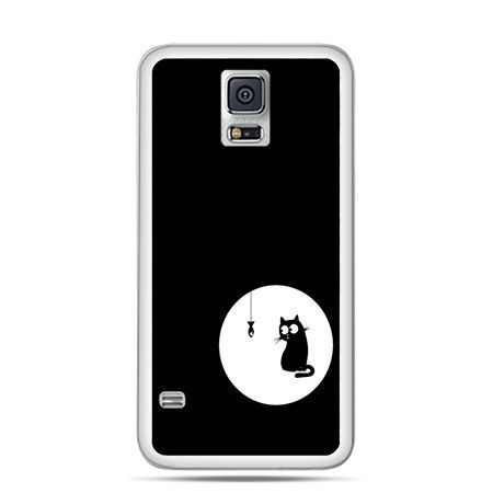 Etui na Samsung Galaxy S5 mini kotek