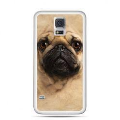 Etui na Samsung Galaxy S5 mini pies szczeniak Face 3d