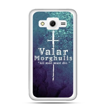 Galaxy Core 2 etui Valar morghulis
