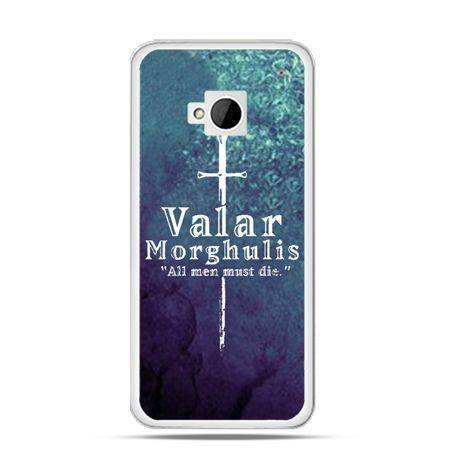 Etui na HTC One M7 Valar morghulis