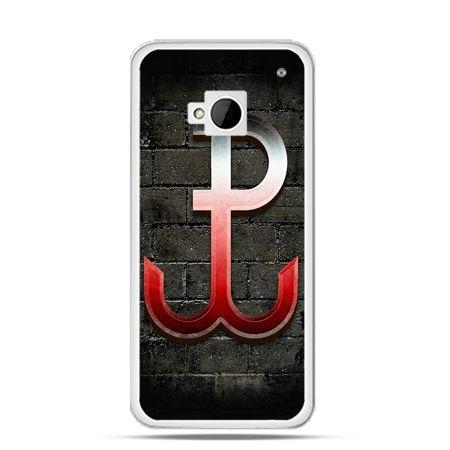 Etui na telefon HTC One M7 patriotyczne - Polska Walcząca