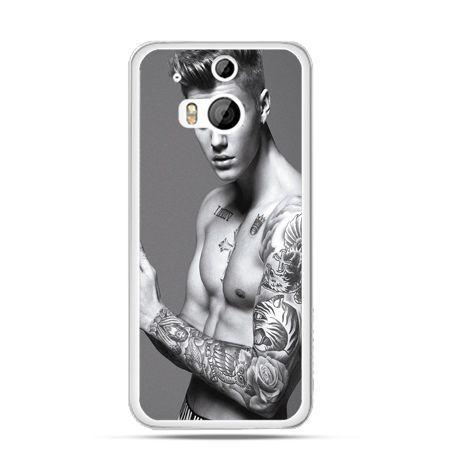 Etui na HTC One M8 Justin Bieber w tatuażach