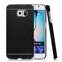 Galaxy S7 Edge etui Motomo aluminiowe czarny. PROMOCJA !!!