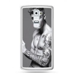 Etui na telefon LG G2 Justin Bieber w tatuażach