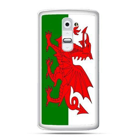 Etui na telefon LG G2 flaga Walii