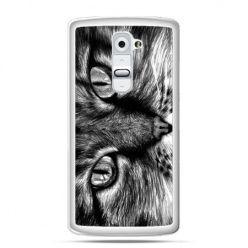 Etui na telefon LG G2 slodki kotek