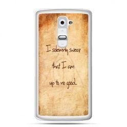 Etui na telefon LG G2 I solemnly swear..