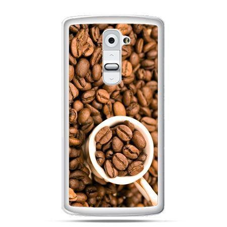 Etui na telefon LG G2 kubek z kawą