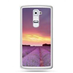 Etui na telefon LG G2 wrzosowisko