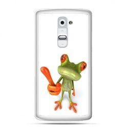 Etui na telefon LG G2 śmiesznaq żaba
