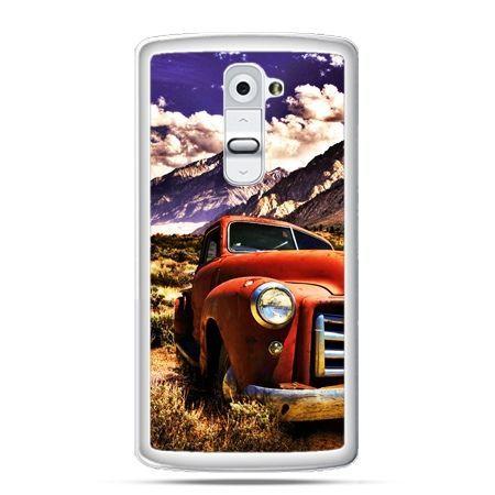 Etui na telefon LG G2 retro pick-up