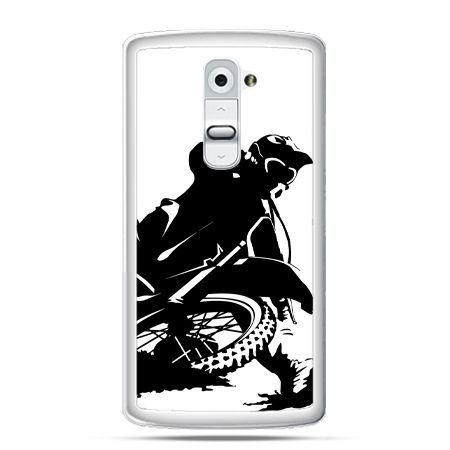 Etui na telefon LG G2 motocykl cross