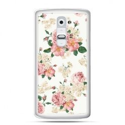 Etui na telefon LG G2 polne kwiaty