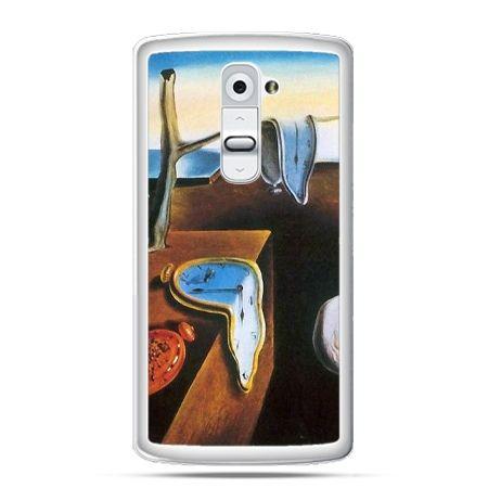 Etui na telefon LG G2 zegary S.Dali