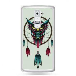 Etui na telefon LG G2 sowa indiańska