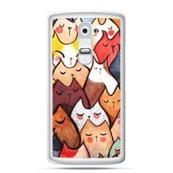 Etui na telefon LG G2 koty