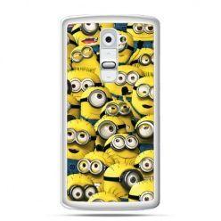 Etui na telefon LG G2 Minionki grupa