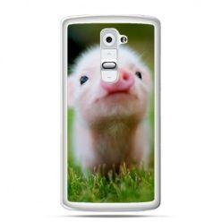 Etui na telefon LG G2 świnka