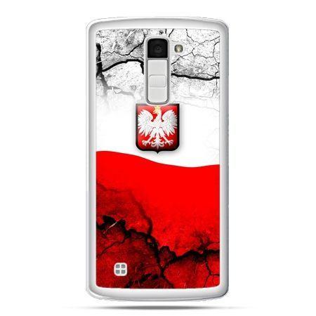 Etui na telefon LG K10 mapa Polski godło patriotyczne