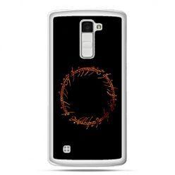 Etui na telefon LG K10 Lord Of The Rings napis