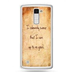 Etui na telefon LG K10 I solemnly swear..