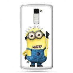 Etui na telefon LG K10 wesoły minionek ,minionki