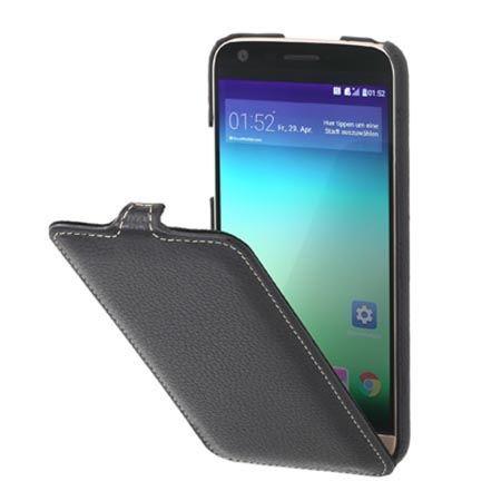 Etui na LG G5 Stilgut SlimCase skórzane z klapką czarne. PROMOCJA!!!