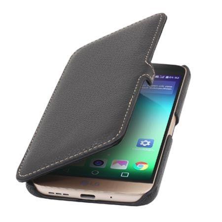 Etui na LG G5 Stilgut Book skórzane z klapką czarne.