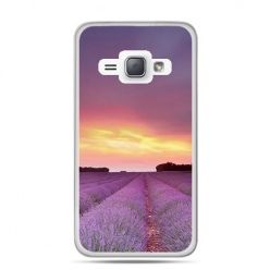 Etui na Galaxy J1 (2016r) Pole Lawendy.