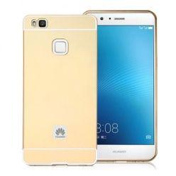 Huawei P9 lite etui aluminium bumper case złoty.