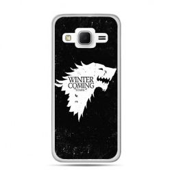 Etui na Galaxy J3 (2016r) Winter is coming