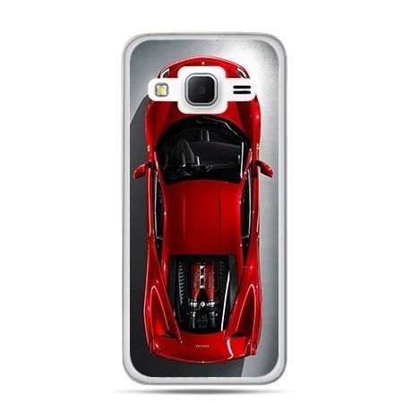 Etui na Galaxy J3 (2016r) czerwone Ferrari
