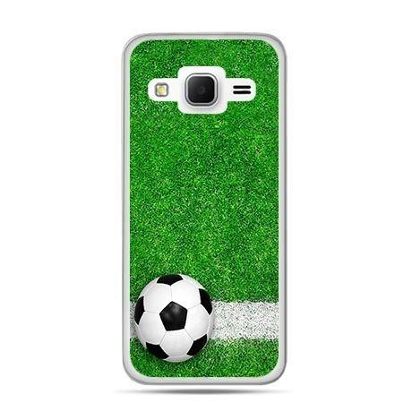 Etui na Galaxy J3 (2016r) piłka murawa