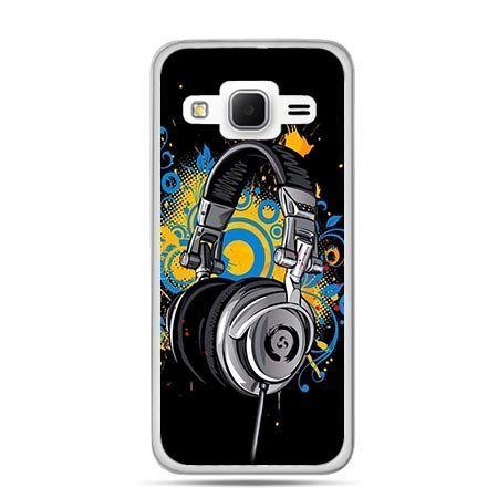 Etui na Galaxy J3 (2016r) słuchawki