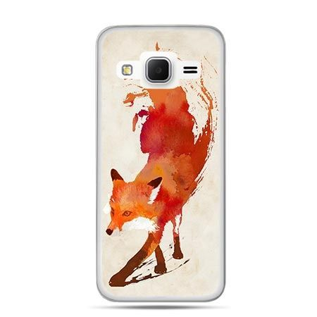Etui na Galaxy J3 (2016r) lis watercolor
