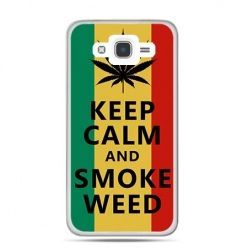 Etui na Galaxy J7 (2016r) Keep Calm and Smoke Weed