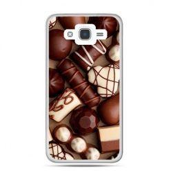 Etui na Galaxy J7 (2016r) czekoladki