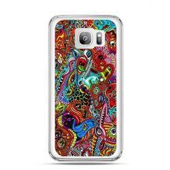 Etui na telefon Galaxy S7 Edge kolorowy chaos